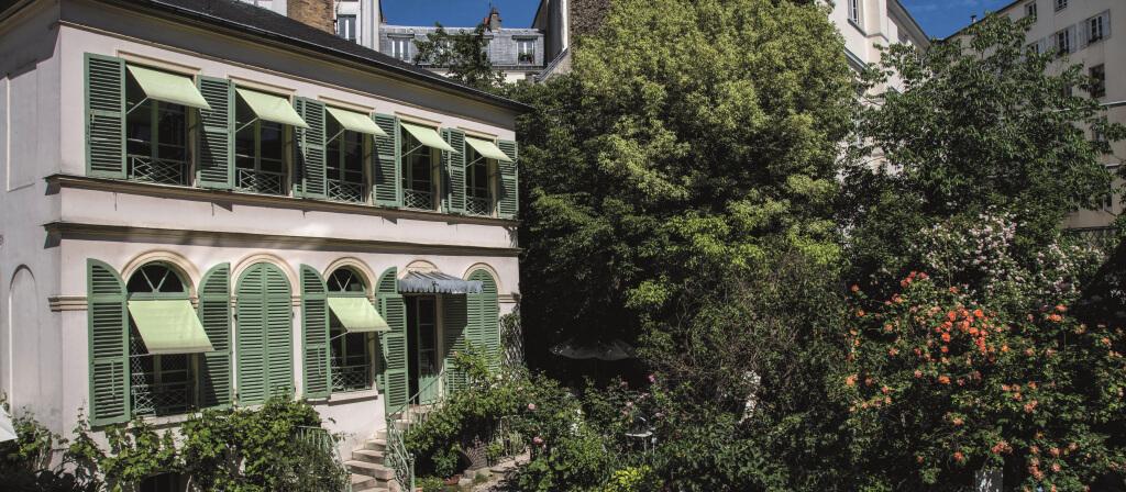 sortie à paris et Musée de la Vie Romantique