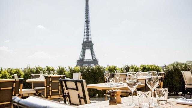 rooftop Café de l'Homme