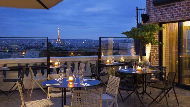 rooftop paris Terrasse Restaurant and Bar